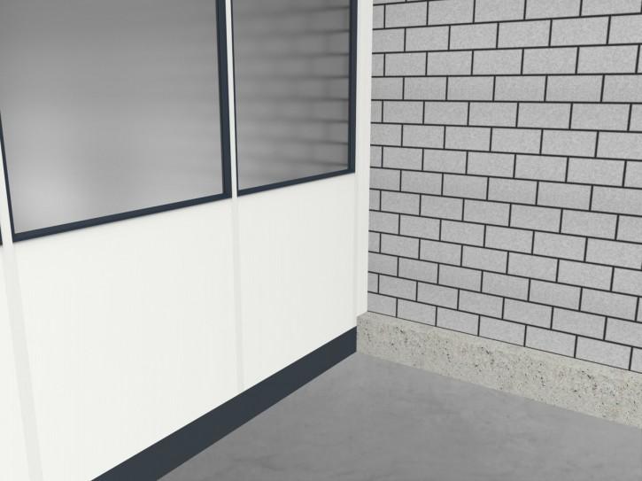 Hallenbüro 2-seitig 8,50 x 5,50 m 46,75 m² (HB2-8555)