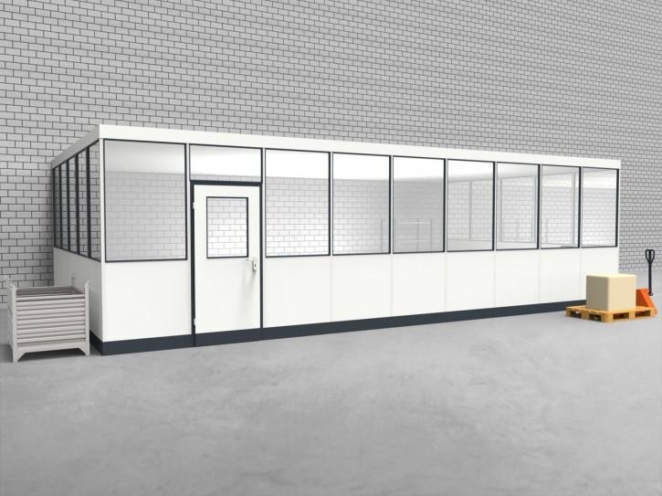 Hallenbüro 3-seitig 9,00 x 5,00 m 45 m² (HB3-9050)