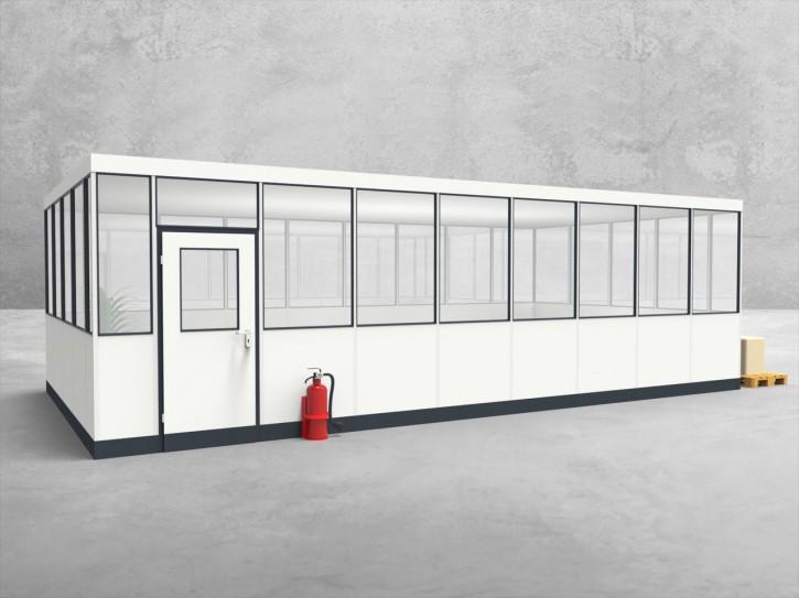 Hallenbüro 4-seitig 8,50 x 4,50 m 38,25 m² (HB4-8545)