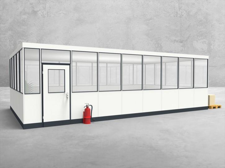 Hallenbüro 4-seitig 8,50 x 5,00 m 42,5 m² (HB4-8550)