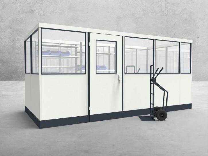 Stellwand 4-seitig 4,50 x 2,00 m 9 m² (SW4-4520)