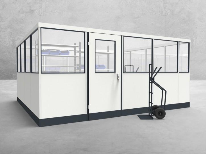 Stellwand 4-seitig 4,50 x 4,00 m 18 m² (SW4-4540)