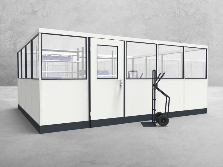 Stellwand 4-seitig 5,00 x 4,00 m 20 m² (SW4-5040)