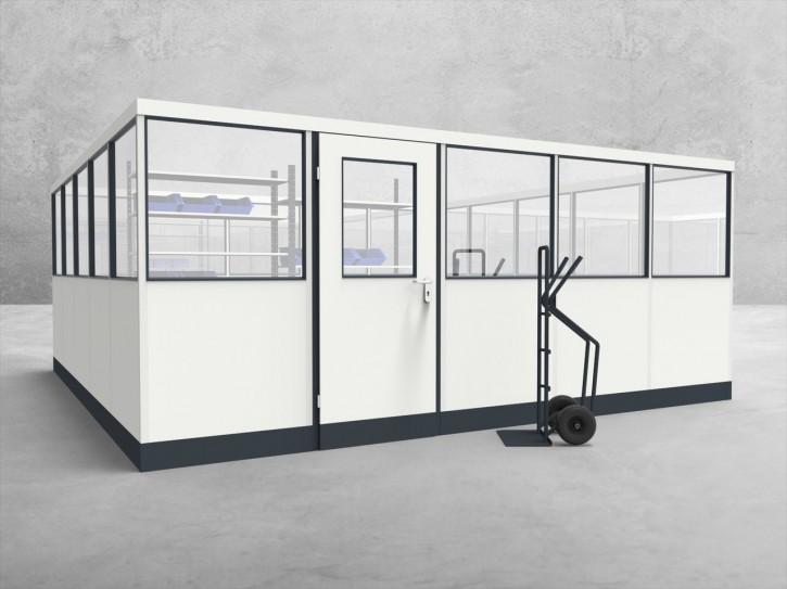 Stellwand 4-seitig 5,00 x 5,00 m 25 m² (SW4-5050)