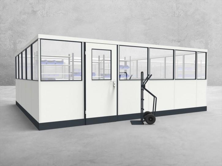 Stellwand 4-seitig 5,50 x 5,00 m 27,5 m² (SW4-5550)
