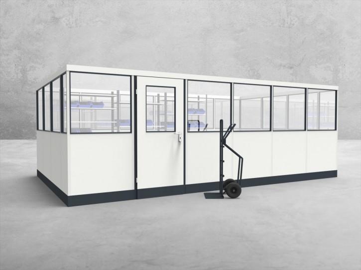 Stellwand 4-seitig 6,00 x 3,50 m 21 m² (SW4-6035)