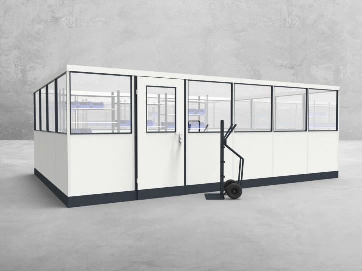 Stellwand 4-seitig 6,00 x 4,00 m 24 m² (SW4-6040)