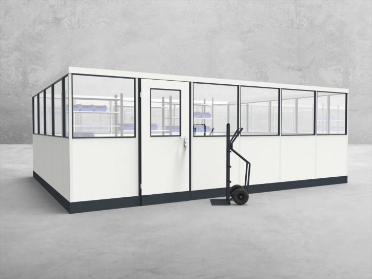 Stellwand 4-seitig 6,00 x 4,50 m 27 m² (SW4-6045)