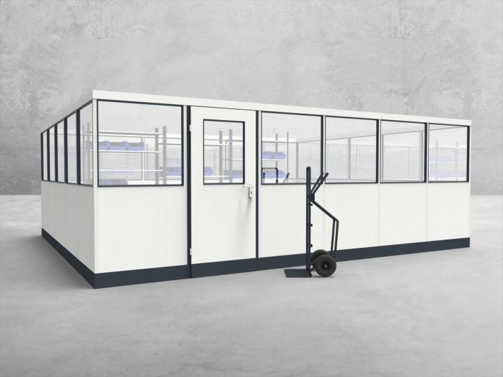 Stellwand 4-seitig 6,00 x 5,00 m 30 m² (SW4-6050)