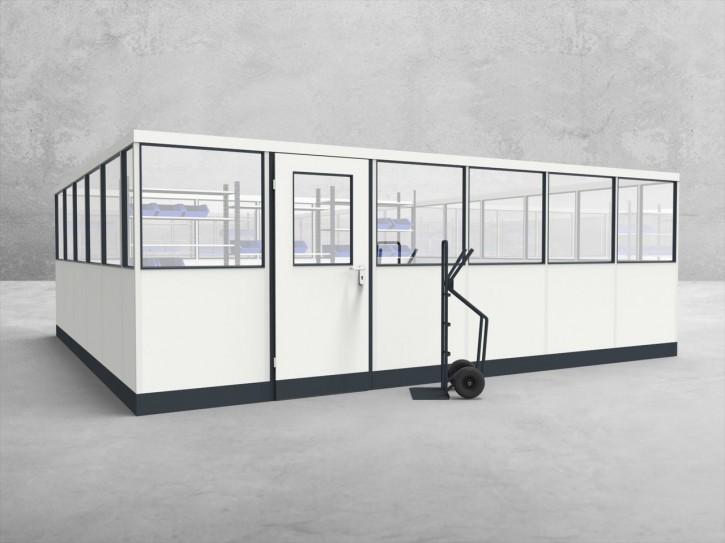 Stellwand 4-seitig 6,00 x 5,50 m 33 m² (SW4-6055)