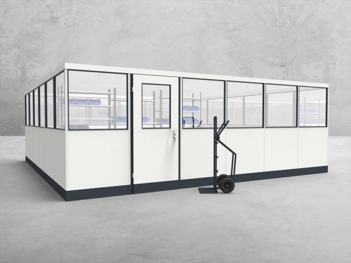 Stellwand 4-seitig 6,00 x 6,00 m 36 m² (SW4-6060)