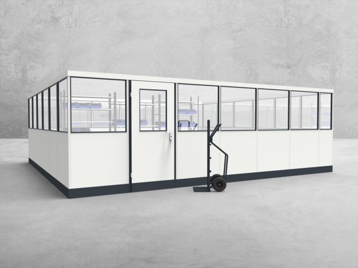 Stellwand 4-seitig 6,50 x 6,00 m 39 m² (SW4-6560)