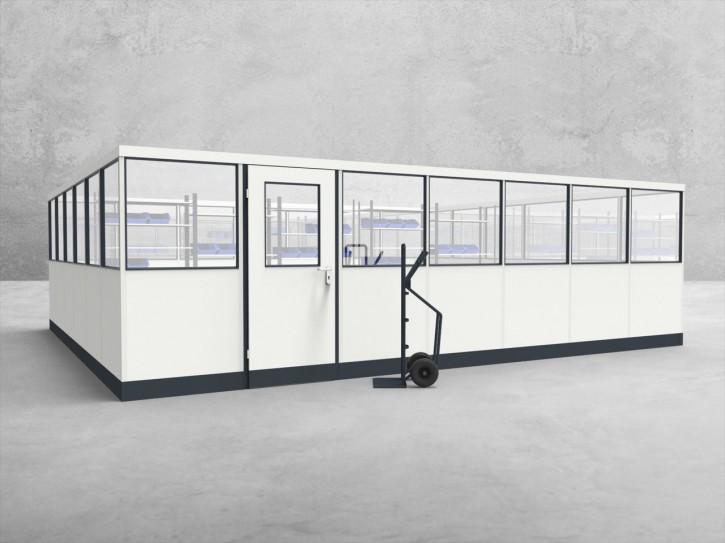Stellwand 4-seitig 7,00 x 6,00 m 42 m² (SW4-7060)