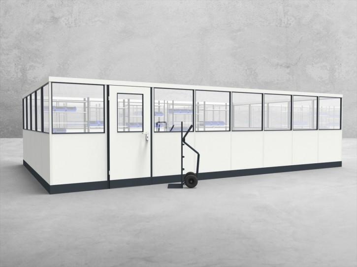 Stellwand 4-seitig 8,00 x 5,00 m 40 m² (SW4-8050)