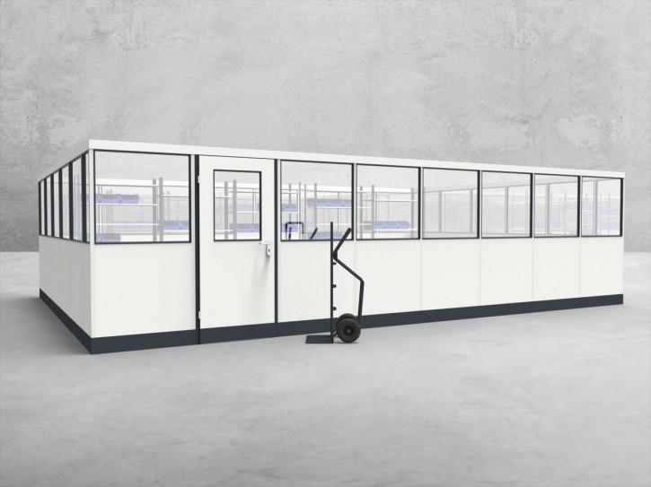 Stellwand 4-seitig 8,00 x 5,50 m 44 m² (SW4-8055)