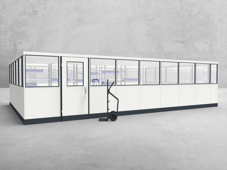 Stellwand 4-seitig 8,50 x 5,50 m 46,75 m² (SW4-8555)