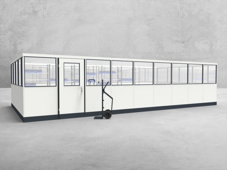 Stellwand 4-seitig 9,00 x 4,50 m 40,5 m² (SW4-9045)