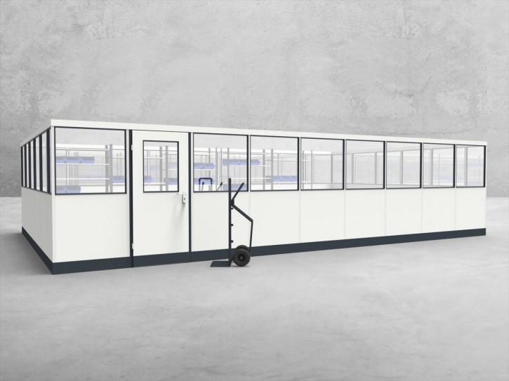 Stellwand 4-seitig 9,00 x 5,50 m 49,5 m² (SW4-9055)