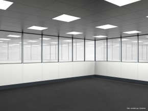 Hallenbüro 4-seitig 6,00 x 4,00 m 24 m² (HB4-6040)