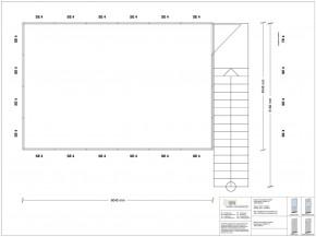 Hallenbüro als Doppelstock 4-seitig 6,00 x 4,00 m 24 m² (HD4-6040)