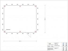 Hallenbüro als Doppelstock 4-seitig 6,00 x 5,00 m 30 m² (HD4-6050)