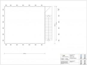 Hallenbüro als Doppelstock 4-seitig 6,50 x 6,00 m 39 m² (HD4-6560)