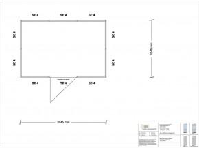 Stellwand 4-seitig 3,00 x 2,00 m 6 m² (SW4-3020)